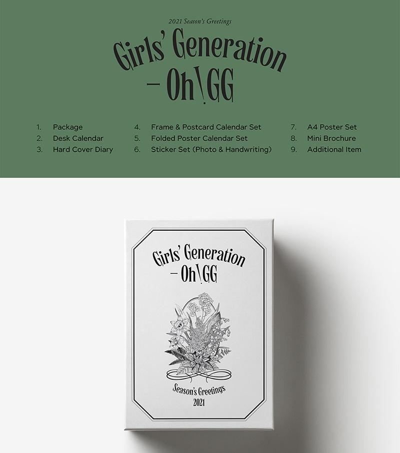 2021 SEASON'S GREETINGS -   GIRLS' GENERATION - OH!GG - Merchandise -  - 8809718445002 - December 30, 2020