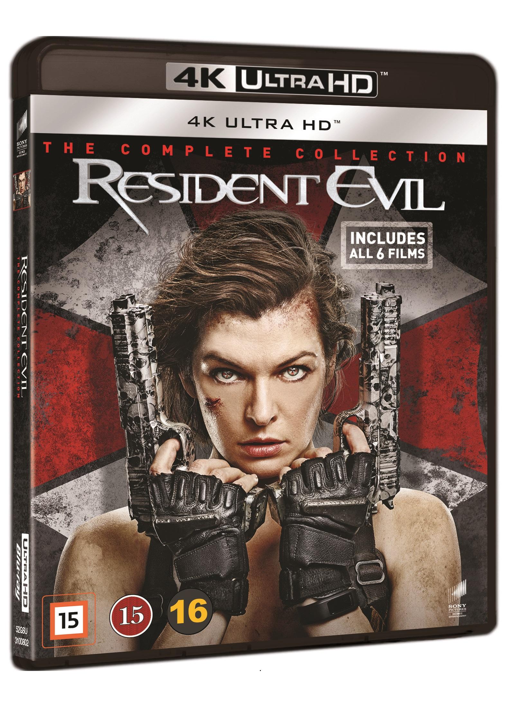 Resident Evil 1-6 -  - Film -  - 7330031008021 - November 2, 2020