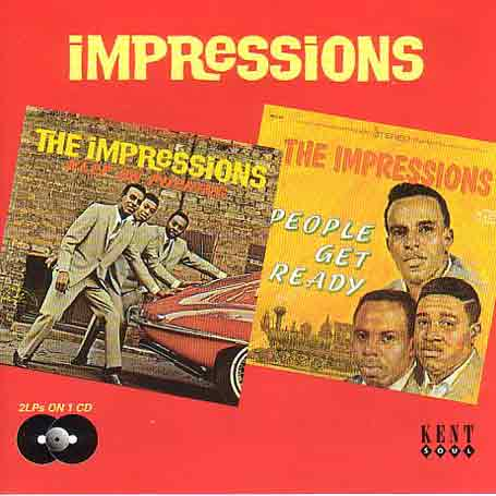 Keep On Pushing / People Get Ready - Impressions - Musik - KENT - 0029667413022 - February 23, 1996