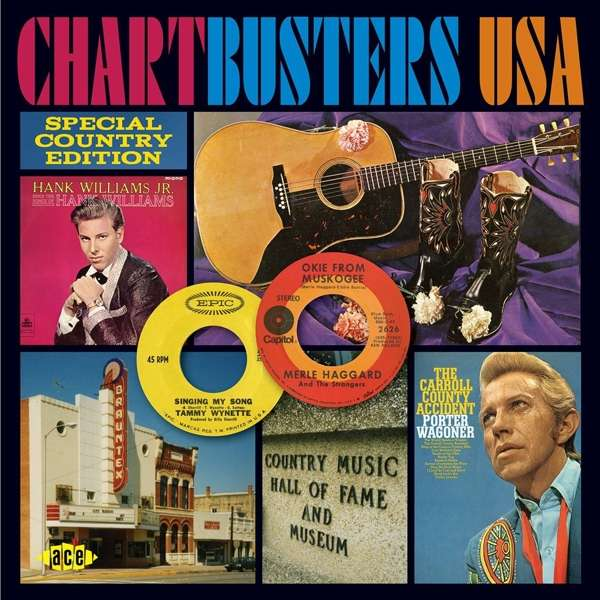 Chartbusters Usa: Special Country Edition - V/A - Musik - ACE - 0029667078023 - December 1, 2016