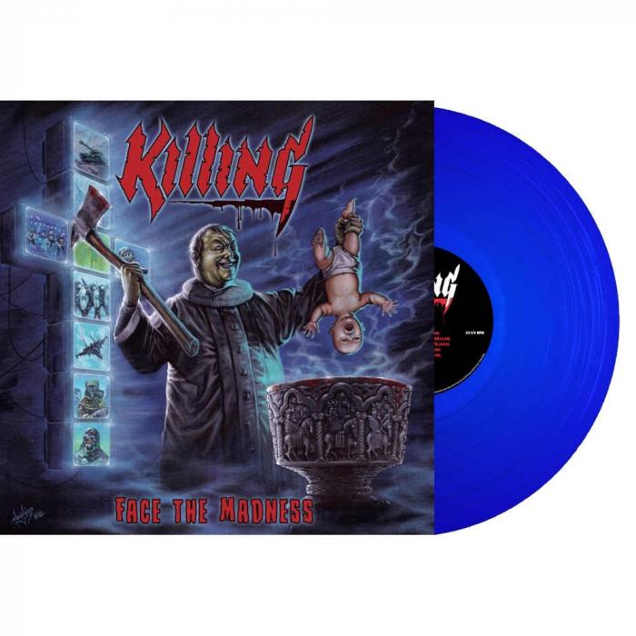 Face The Madness LP (BLUE) - Killing - Musik - TAR - 5700907269023 - September 25, 2021