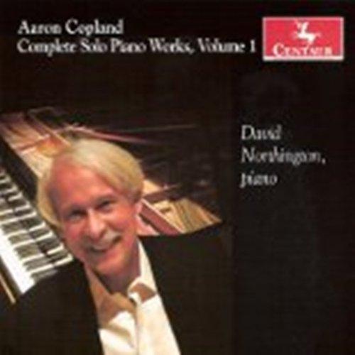 Complete Solo Piano Works 1 - A. Copland - Musik - CENTAUR - 0044747309026 - April 18, 2013