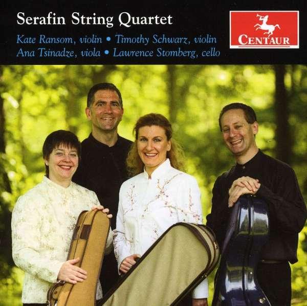 Serafin String Quartet - Still / Dvorak / Gershwin / Seradin String Quartet - Musik - Centaur - 0044747305028 - September 28, 2010