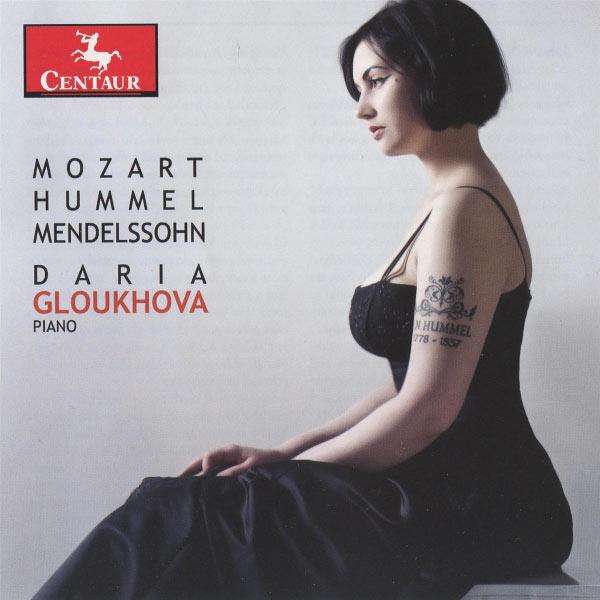 Solo Piano Works - Daria Gloukhova - Musik - CENTAUR - 0044747308029 - April 30, 2014