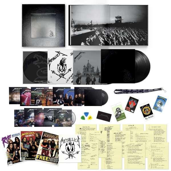 Metallica (The Black Album) - Metallica - Musik - Blackened - 0850007452049 - September 10, 2021