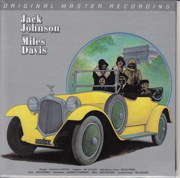 A Tribute To Jack Johnson - Miles Davis - Musik - MOBILE FIDELITY SOUND LAB - 0821797215060 - January 17, 2017