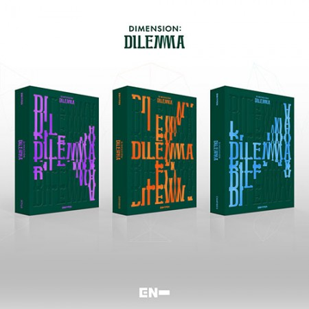 DIMENSION : DILEMMA - ENHYPEN - Musik -  - 8809704422079 - October 16, 2021