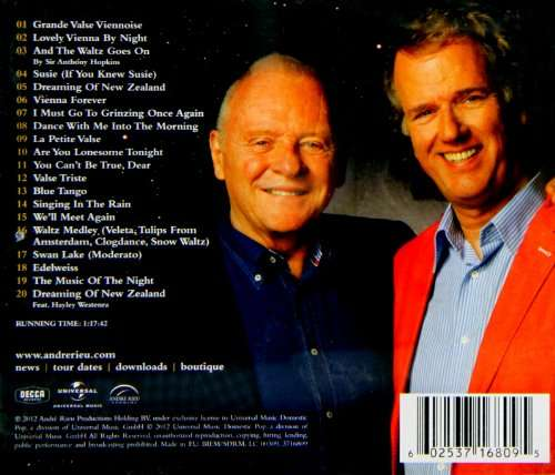 And The Waltz Goes On - Andre Rieu - Musik - UNIVERSAL - 0602537168095 - May 28, 2021