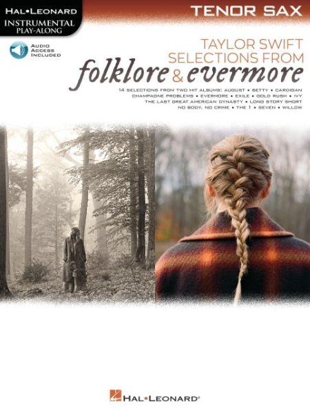 Taylor Swift Selections from Folklore Ev - Instrumental Playalong - Taylor Swift - Bøger - HAL LEONARD SHEET MUSIC - 9781705133095 - August 1, 2021