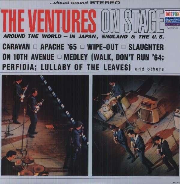 Ventures On Stage - Ventures - Musik - SUNDAZED MUSIC INC. - 0090771539113 - June 30, 1990