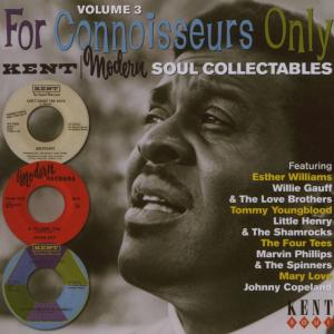 For Connoiseurs Only Vol. - V/A - Musik - KENT SOUL - 0029667228121 - August 9, 2007
