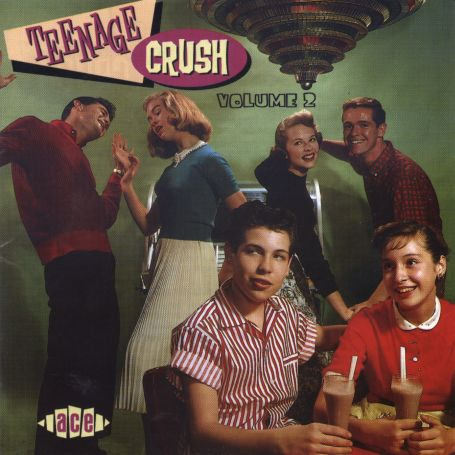Teenage Crush 2 - V/A - Musik - ACE - 0029667170123 - March 17, 1992