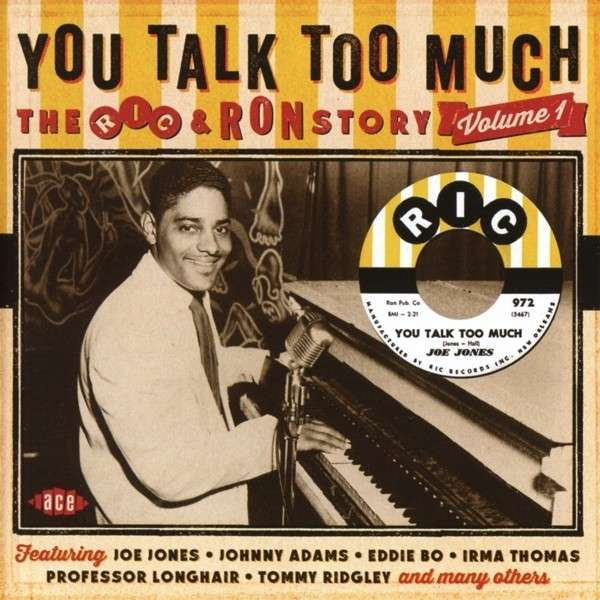 You Talk Too Much - V/A - Musik - ACE - 0029667058124 - March 3, 2014