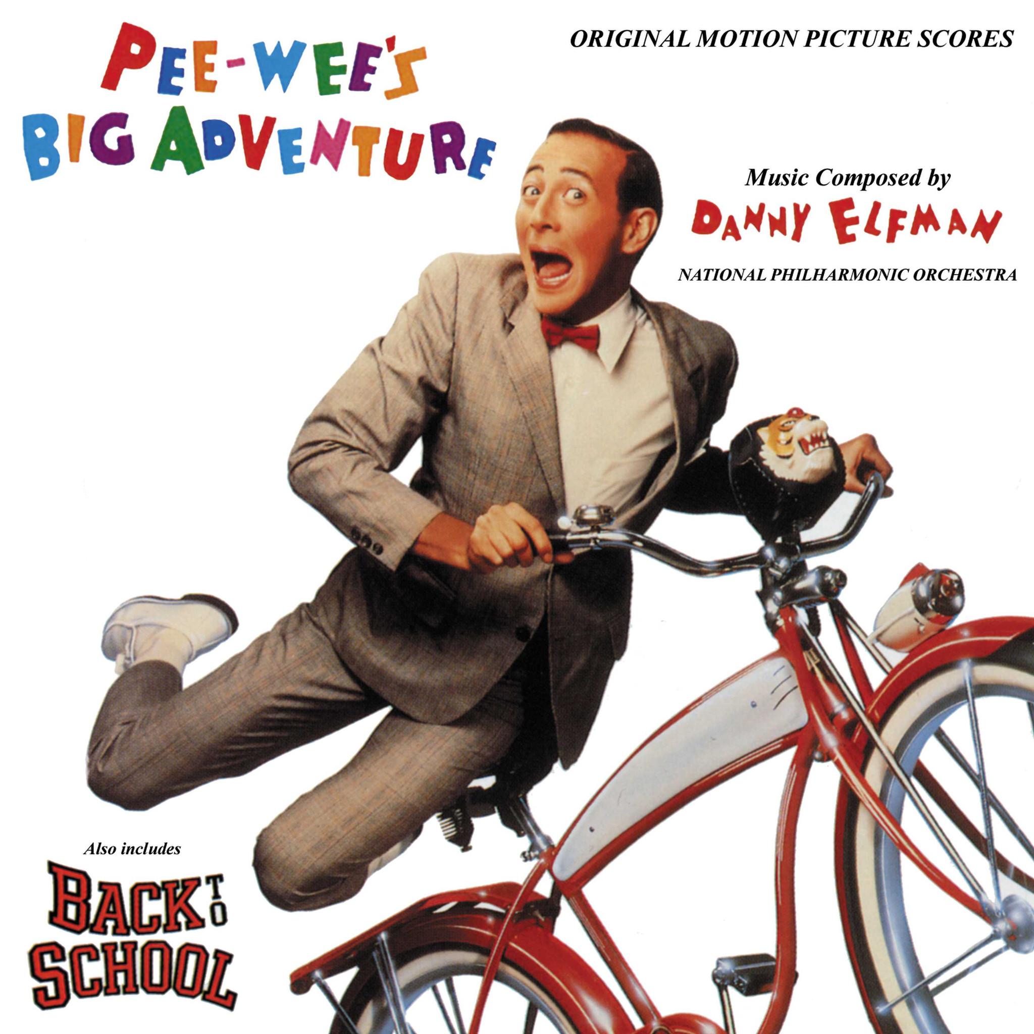 Peewee's Big Adventure / O.s.t. - Peewee's Big Adventure / O.s.t. - Musik - SOUNDTRACK / SCORE - 0030206428124 - July 1, 1991