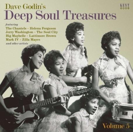 Dave Godin's Deep Soul Treasures Volume 5 - V/A - Musik - KENT SOUL - 0029667096126 - November 1, 2019