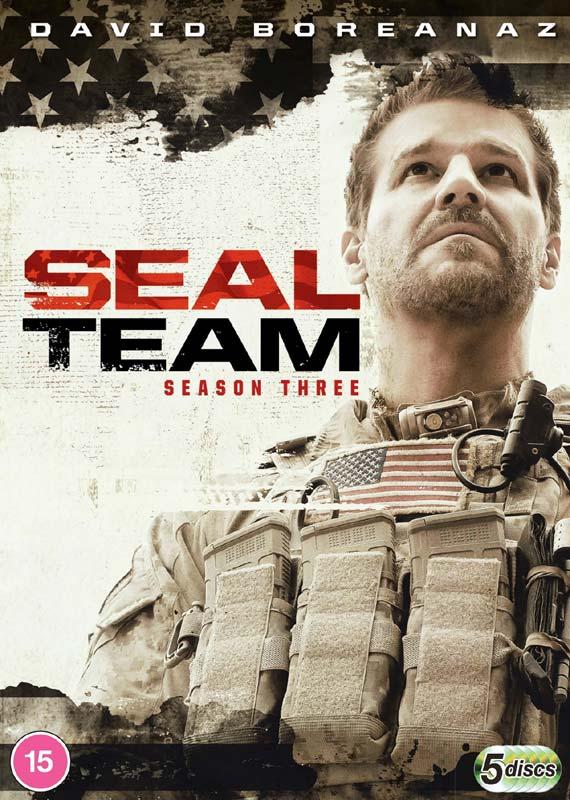 Seal Team - Season 3 - Tv Series - Film - PARAMOUNT HOME ENTERTAINMENT - 5053083224127 - November 16, 2020