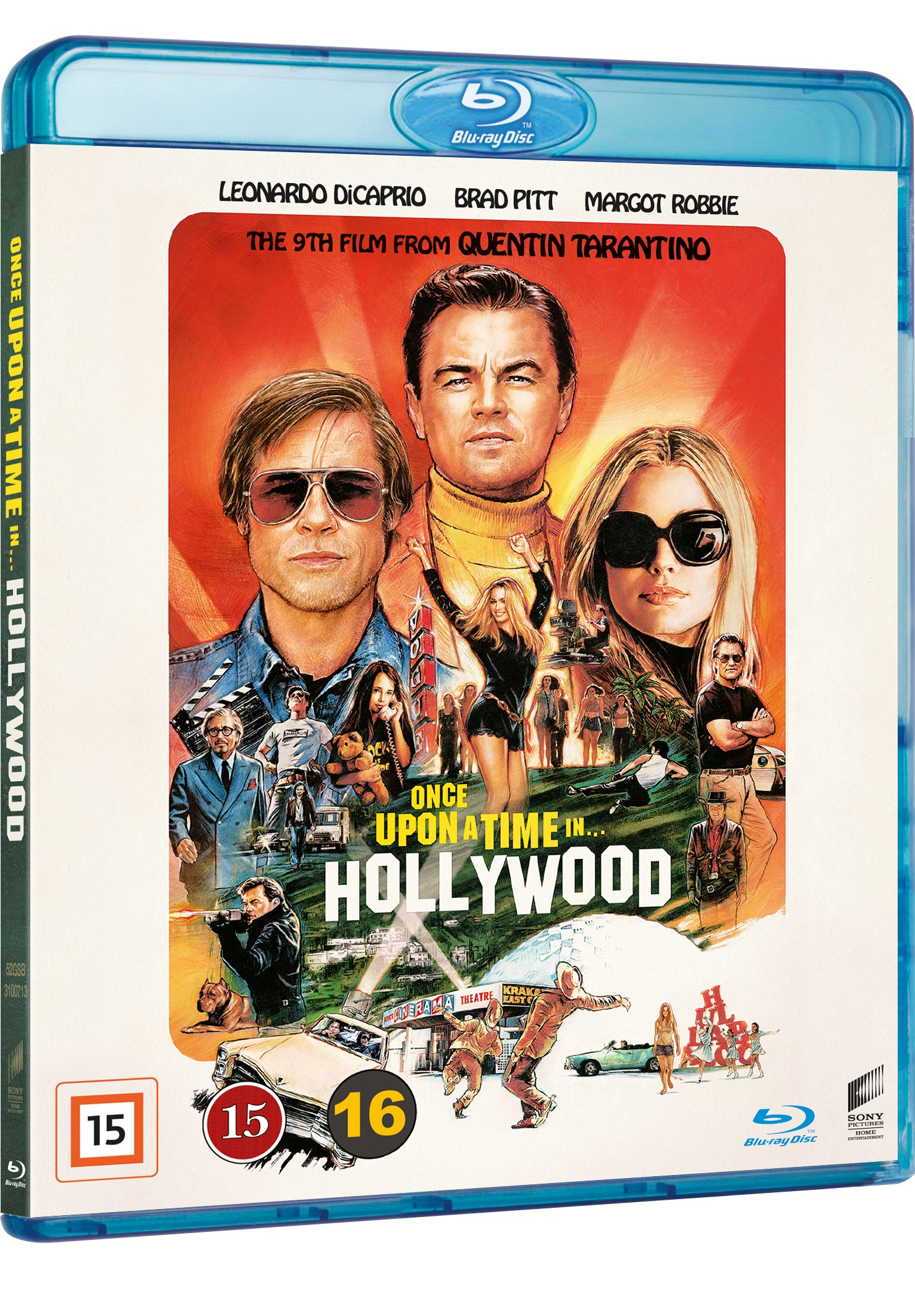 Once Upon a Time in Hollywood - Quentin Tarantino - Film -  - 7330031007130 - 27. desember 2019