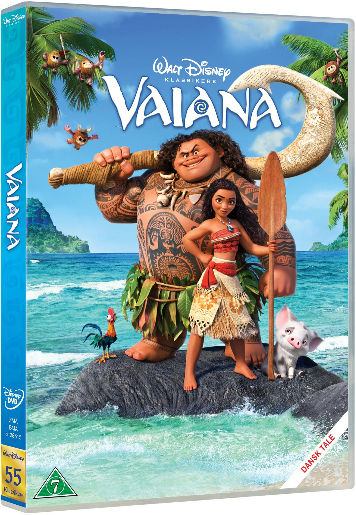 Vaiana - Vaiana - Film -  - 8717418496135 - June 15, 2017