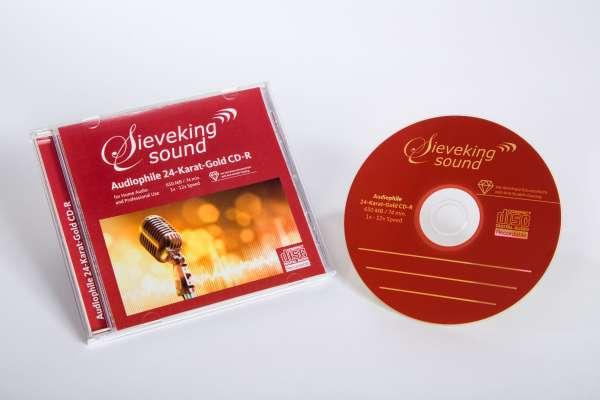 Audiophile 24-Karat-Gold CD Rohling (1er) -  - Musik -  - 0000006229137 -