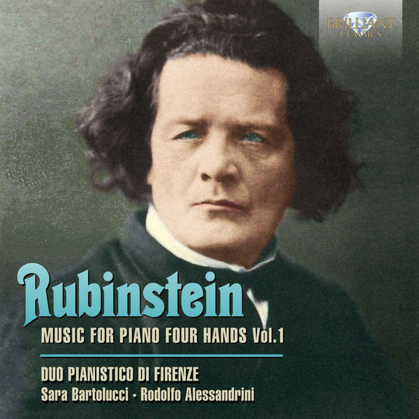 Music for Piano 4 Hands 1 - A. Rubinstein - Musik - BRILLIANT CLASSICS - 5028421950167 - September 17, 2014