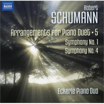 Arrangements for Piano Duet 5: Symphony No.1 & 4 - R. Schumann - Musik - NAXOS - 0747313288175 - March 27, 2020