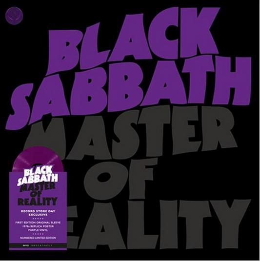 Master Of Reality (Purple Vinyl) (RSD2021) - Black Sabbath - Musik - SANCTUARY - 4050538658194 - July 17, 2021