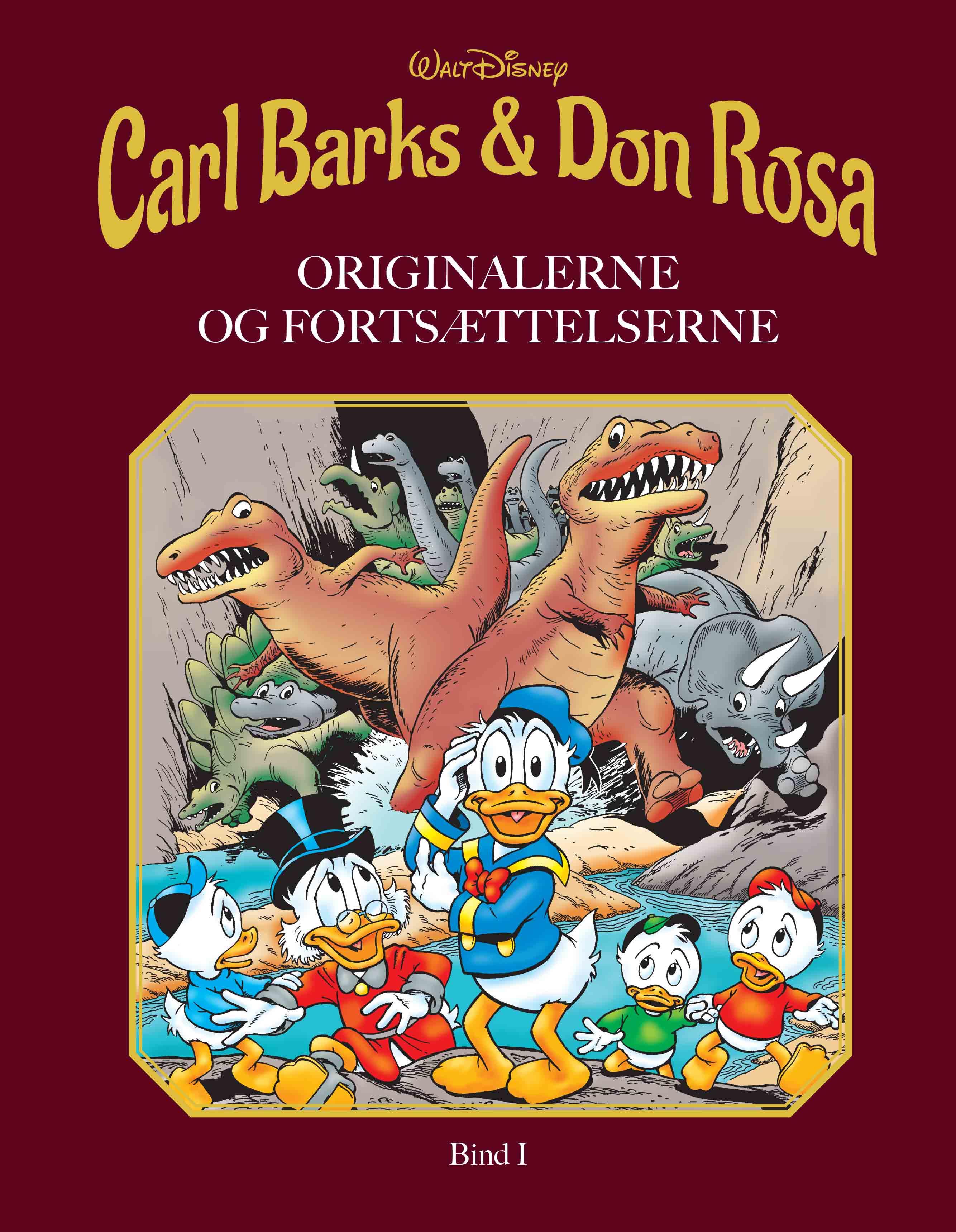Carl Barks & Don Rosa Bind I - Walt Disney - Bøger - Egmont Publishing A/S - 9788793840195 - March 30, 2020