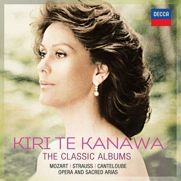 Classic Albums - 70th Birthday Box - Kiri Te Kanawa - Musik - DECCA - 0028947864196 - March 3, 2014