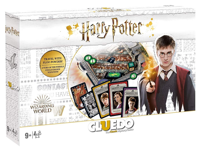Harry Potter Cluedo - Harry Potter - Brætspil - HASBRO GAMING - 5036905037198 - October 7, 2019