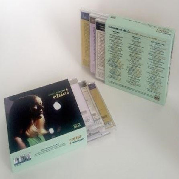 Totalement Chic -chic Box Slipcase (No Cds) - Various Artists - Andet - ACE RECORDS - 0029667063203 - September 30, 2016