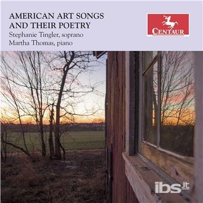 American Art Songs - Brown / Tingler / Thomas - Musik -  - 0044747355221 - September 1, 2017