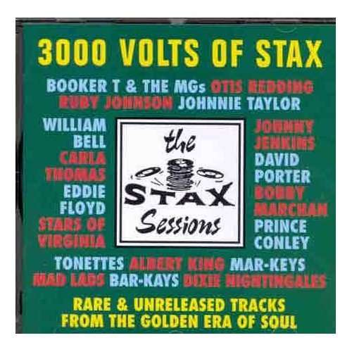3000 Volts Of Stax - V/A - Musik - STAX - 0029667910224 - March 28, 1994