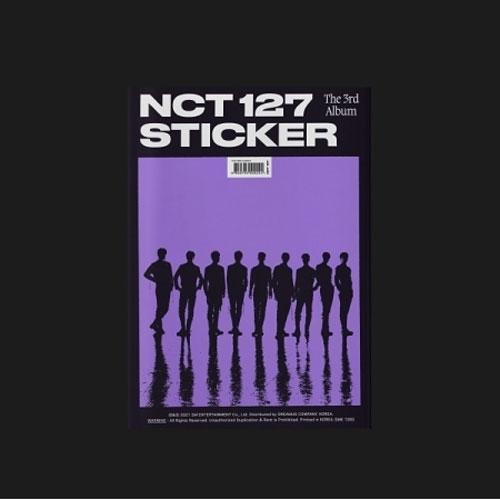 Sticker (Sticker Ver.) Album Vol. 3 - NCT 127 - Musik - SM ENTERTAINMENT - 8809755509224 - September 18, 2021