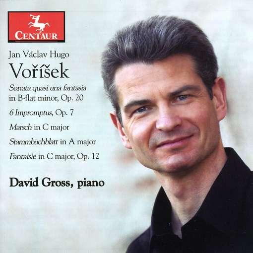 Sonata Quasi Una Fantasia - Vorisek / Gross - Musik - CENTAUR - 0044747302225 - April 27, 2010
