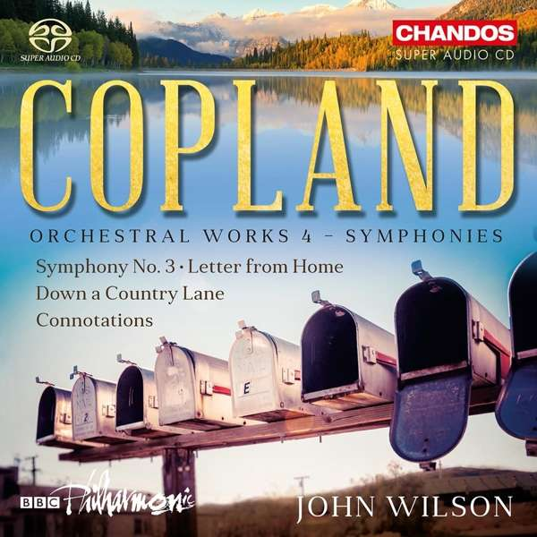 Orchestral Works 4 - Symphonies - A. Copland - Musik - CHANDOS - 0095115522226 - November 15, 2018