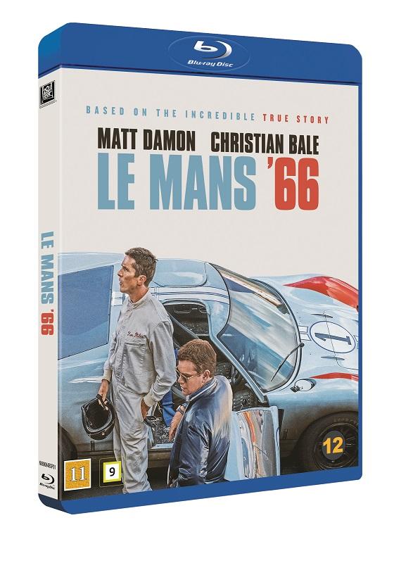 Le Mans 66 / Ford vs Ferrari -  - Film -  - 7340112751227 - 30. mars 2020