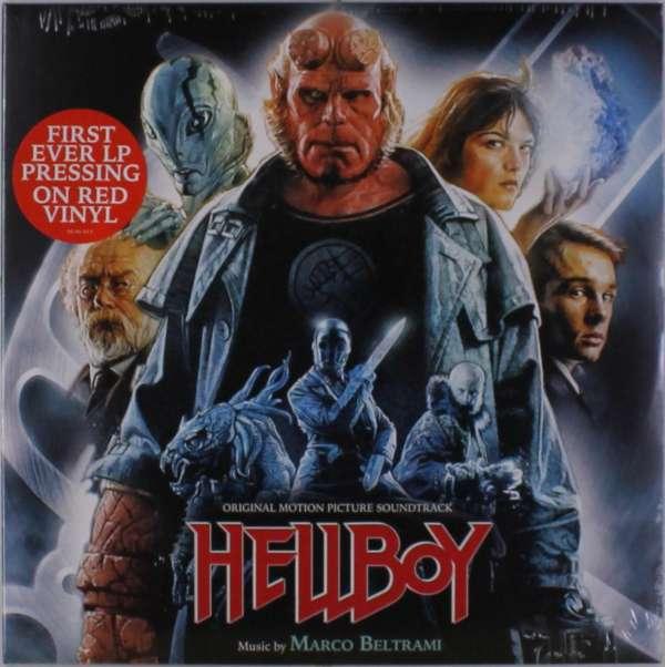 Hellboy (2004) (Red Vinyl) - Beltrami, Marco / OST - Musik - SOUNDTRACK/SCORE - 0030206656251 - July 13, 2018
