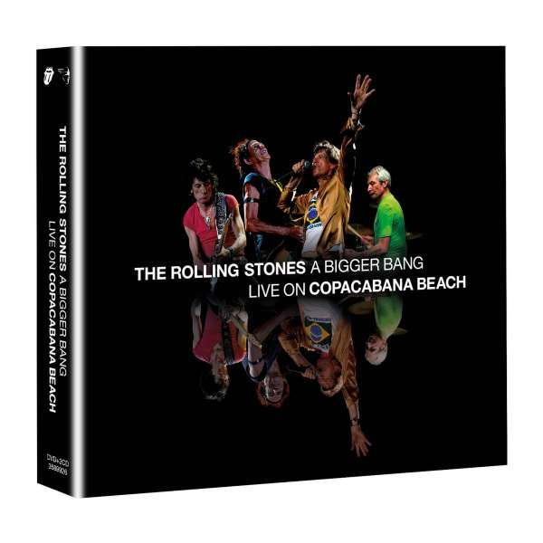 A Bigger Bang - Live on Copacabana Beach - The Rolling Stones - Musik - UNIVERSAL - 0602435899268 - July 9, 2021