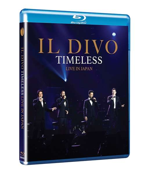 Timeless Live in Japan - Il Divo - Film - EAGLE ROCK ENTERTAINMENT - 5051300540272 - October 11, 2019