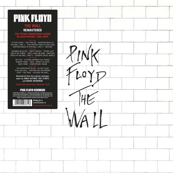 The Wall - Pink Floyd - Musik -  - 5099902988313 - August 26, 2016