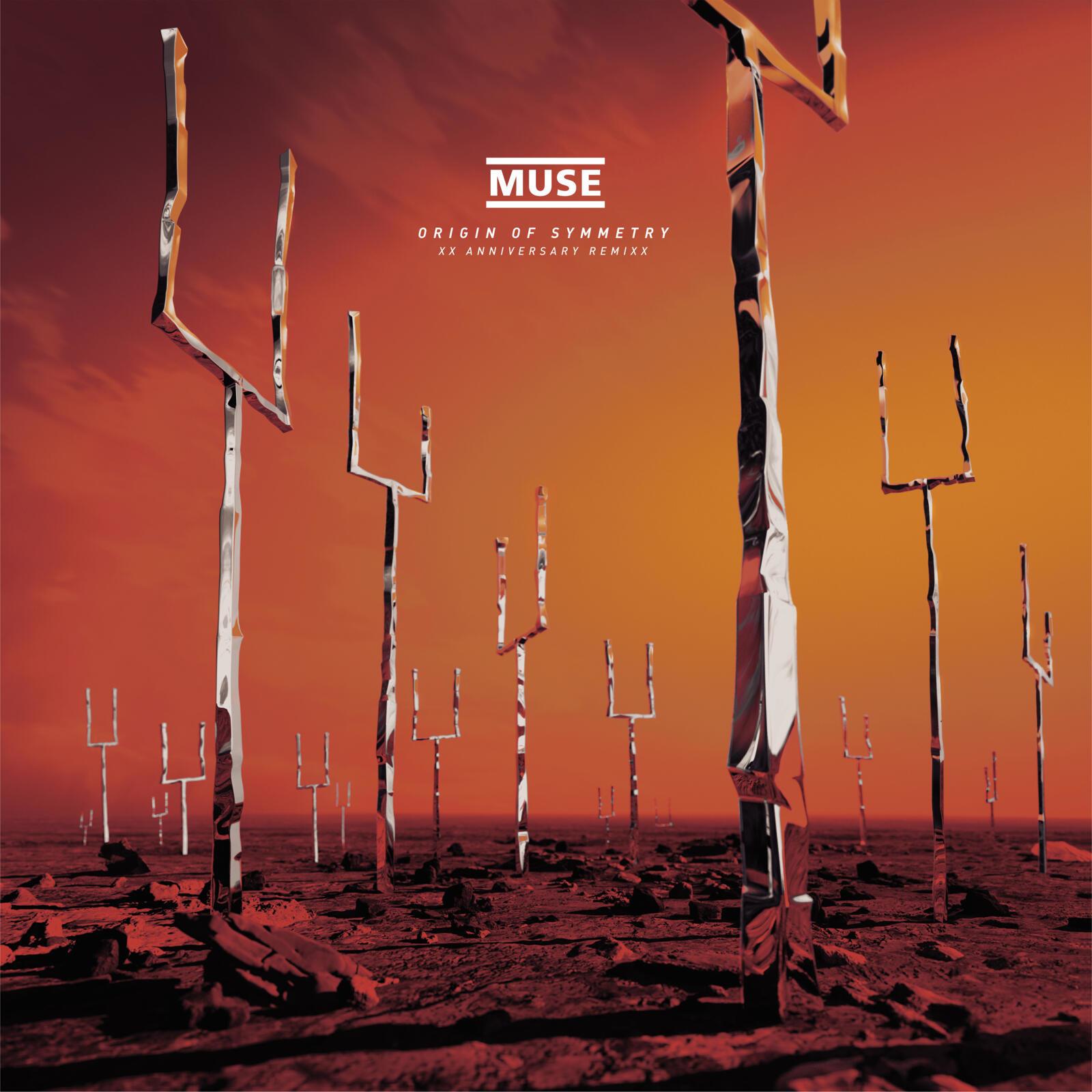 Origin of Symmetry: XX Anniversary Remixx - Muse - Musik - WARNER - 0190295024314 - July 9, 2021