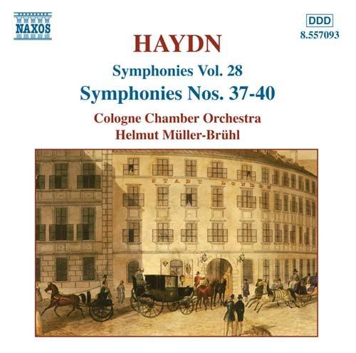 Symphony No.37-40 - J. Haydn - Musik - NAXOS - 0747313209323 - November 1, 2004
