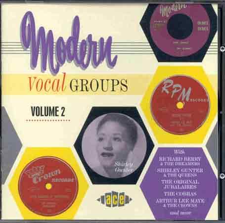 Modern Vocal Groups 2-24t - V/A - Musik - ACE - 0029667172325 - June 28, 1999