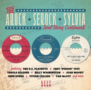Arock - Serock - Sylvia - V/A - Musik - KENT SOUL - 0029667245326 - June 30, 2016