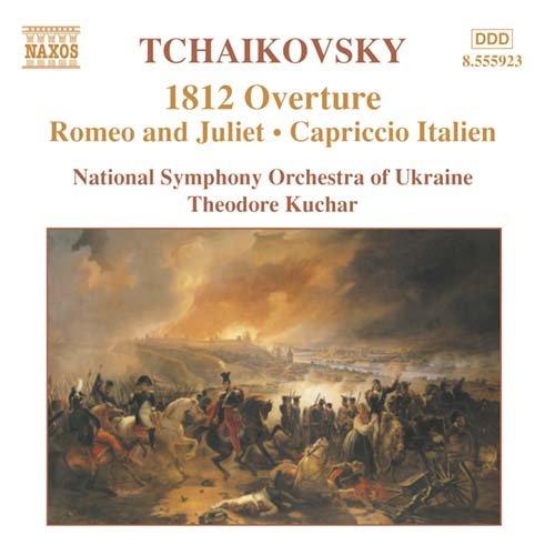 1812 Overture / Capriccio Italien / Romeo & Juliet - National Symphony Orchestra of Ukraine / Theodore Kuchar - Musik - NAXOS - 0747313592326 - August 11, 2003