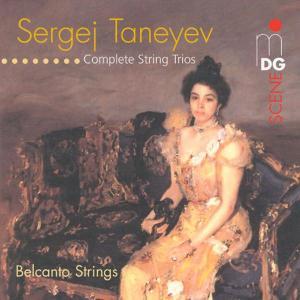 Complete String Trios - S. Taneyev - Musik - MDG - 0760623100326 - September 10, 2016