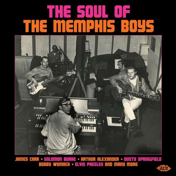 The Soul Of The Memphis Boys - Various Artists - Musik - ACE - 0029667098328 - June 26, 2020