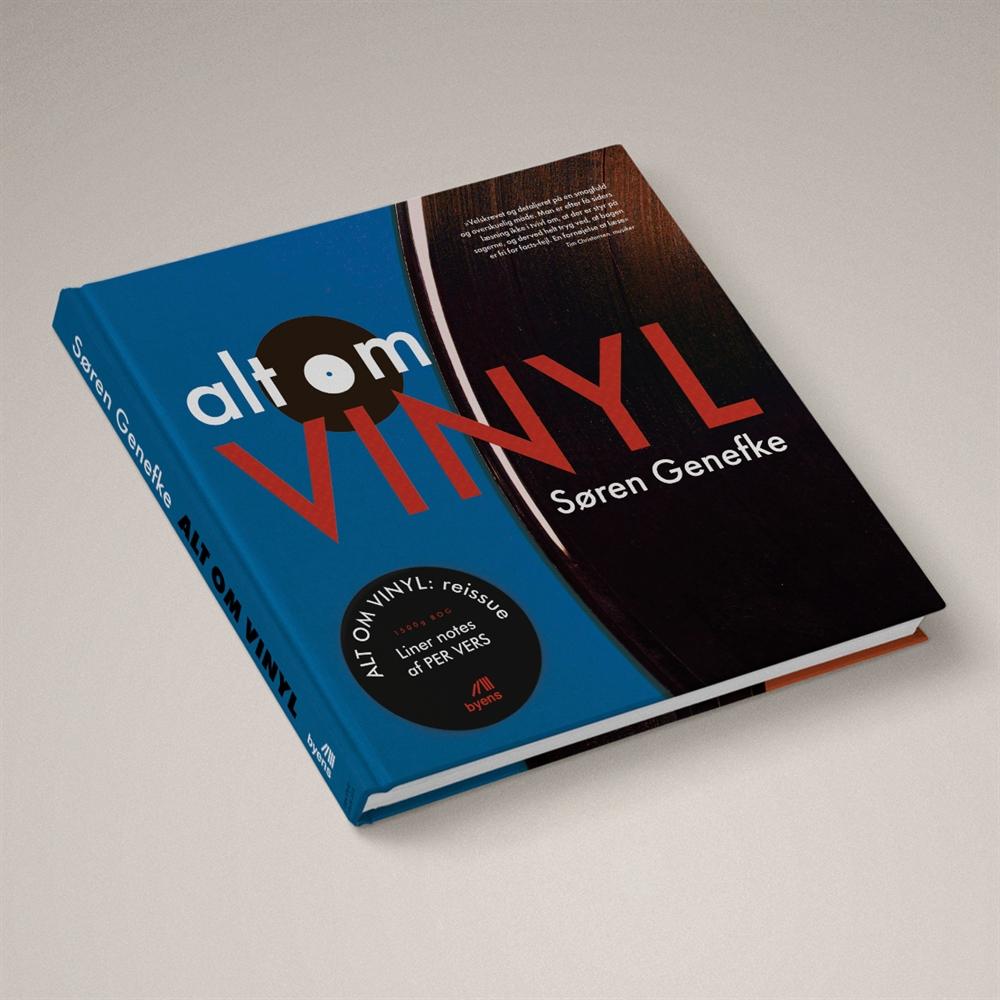 Alt om vinyl - Reissue - Søren Genefke - Bøger - Byens Forlag - 9788793628328 - 14. november 2020