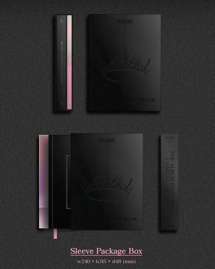 [4+1] THE ALBUM PHOTOBOOK [LIMITED EDITION] - BLACKPINK - Bøger -  - 8809597100337 - 10 augusti 2021