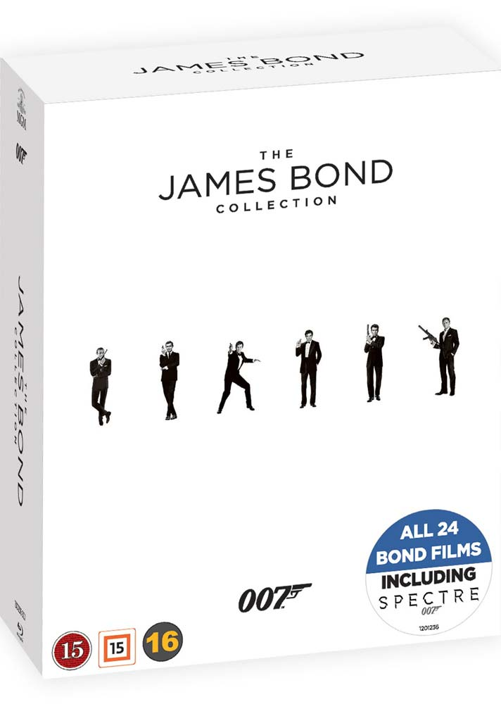The James Bond Collection - James Bond - Film -  - 7333018007352 - February 10, 2018